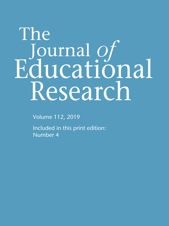 The Journal of Educational Research: Vol 112, No 4
