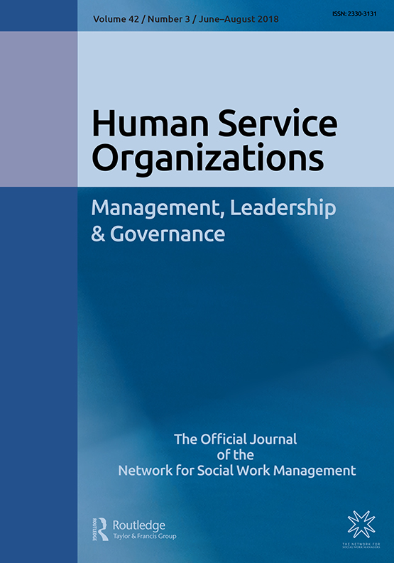 Full Article Leadership Development In Human Services Variations In Agency Training Organizational Investment Participant Satisfaction And Succession Planning