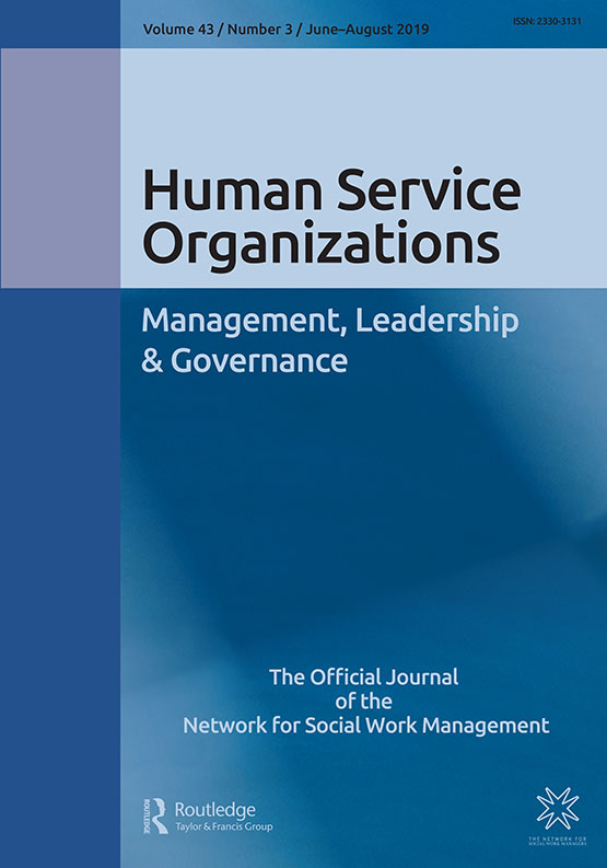 Human Service Organizations: Management, Leadership & Governance