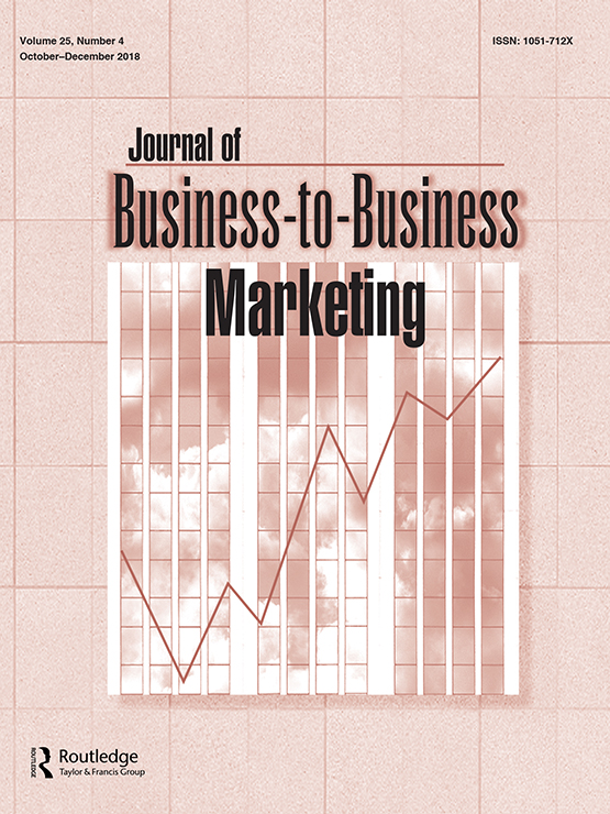 Full Article Service Business Markets Relationship Development In The Maritime Industry