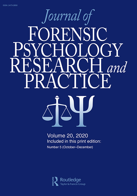Journal Of Forensic Psychology Practice Vol 20 No 5