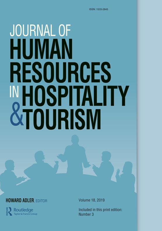 Journal of Human Resources in Hospitality & Tourism: Vol 18, No 3
