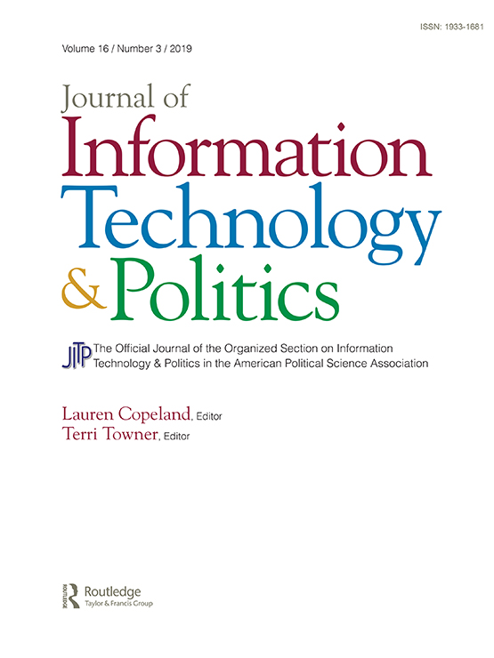 Journal of Information Technology & Politics: Vol 16, No 3