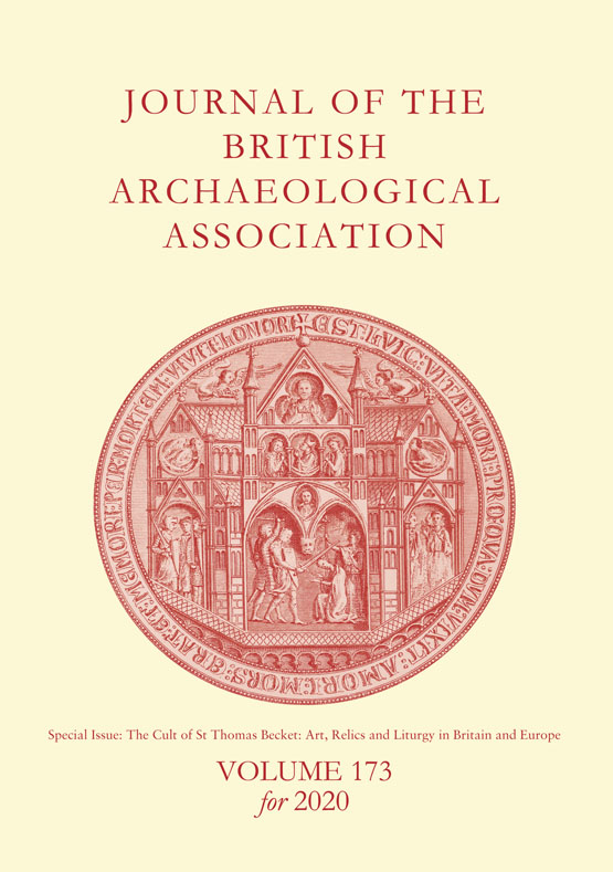 Gifts Of Thomas Becket S Clothing Made By The Monks Of Canterbury Cathedral Journal Of The British Archaeological Association Vol 173 No 1