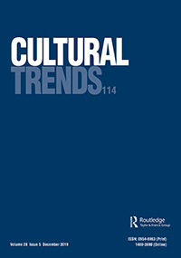 Cultural Trends Special Issue