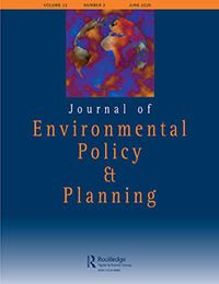 Journal of Environmental Policy & Planning