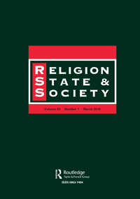 Religion, State and Society