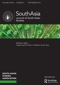 South Asia-Journal of South Asian Studies