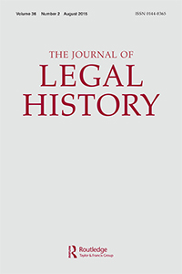 The Journal of Legal History