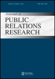 Journal of Public Relations Research cover