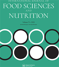 International Journal Of Food Sciences And Nutrition Vol 71 No 6