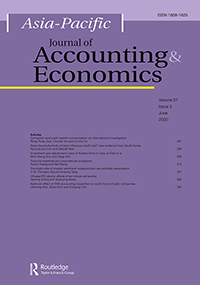 Asia-Pacific Journal of Accounting & Economics