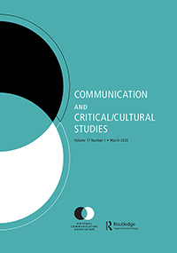 Here is something you can't understand: the suffocating whiteness of communication studies