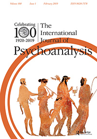 The International Journal of Psychoanalysis