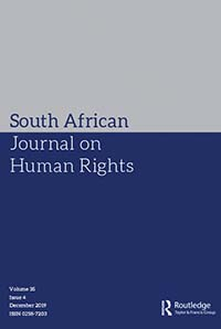 The Fiction of Transformation: An Analysis of the Relationship Between Law, Society and the Legal Profession in South Africa