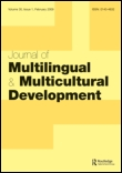 Journal of Multilingual and Multicultural Development