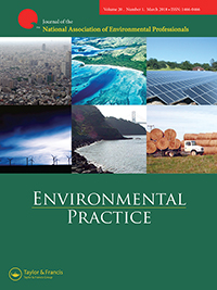 Cover of Environmental Practice