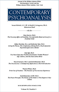 Contemporary Psychoanalysis