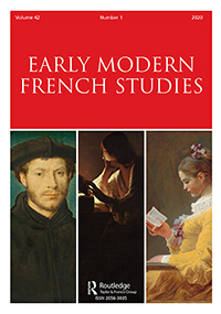 Early Modern French Studies